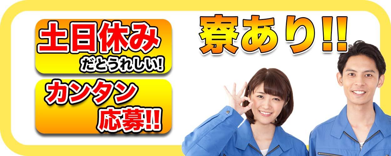埼玉県加須市 【ゴム製品の外観検査業務】