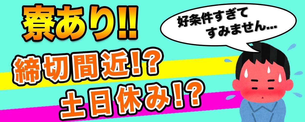 【嬉しい日勤・土日祝休み♪】山梨県昭和町で生産設備の本体組み立て!《JAFVC》
